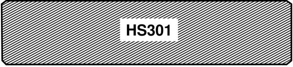 Fichte u/s hobelf. HS 301 Glattkantbrett weiß grundiert