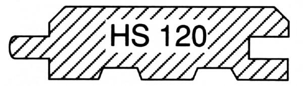 sib. Lärche, B-Sort., HS 120 Fasebrett mit Nut & Feder
