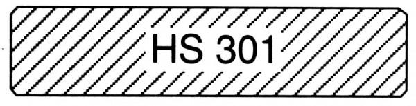 euro. Lärche, B-Sort., HS 301 Glattkantbrett m/4 kl. Fasen